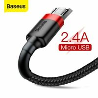 Baseus USB to Micro USB Charger Cable Charging Lead Data Cord for Samsung LG MI