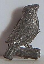 VINT 1920 CRACKER JACK STUD LAPEL BIRD ON BRANCH METAL