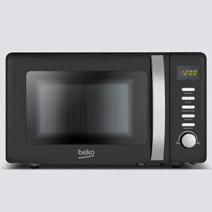 Beko 800 Watt / 20 Litre Microwave Retro Black