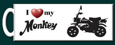 I love my Monkey Bike Mug - Perfect Gift