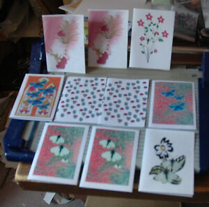 20 MIXED A6 NOTELETS WITH NO ENVELOPES FREE P&P