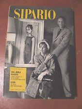 SIPARIO n°192 apr.1962-Riv.teatro-(Teatro polacco-J.Losey-Majakovskij-commedie