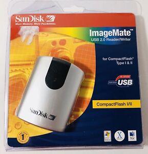 SanDisk ImageMate USB 2.0 Reader/Writer SDDR-91-07 Compact Flash I/II New