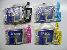 4 X Original Epson Set Multipack t0321 t0322 t0323 t0324 Stylus c70 c80 + plus
