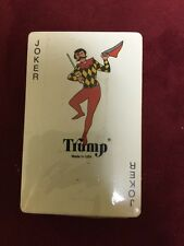 Normal Rockwell Themed Deck of Playing Cards - New, Sealed - Trump Sled Dog vtg