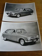 RENAULT 16 TS & TL ORIGINAL PRESS PHOTOS