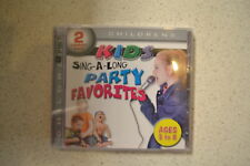Kids Sing-A-Long Party Favorites By Various On Audio CD Album 2011 Brand New
