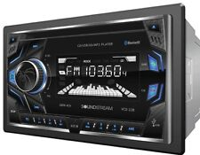 Soundstream VCD-22B Double Din Car CD/MP3 Player Bluetooth AUX USB SD Car Stereo