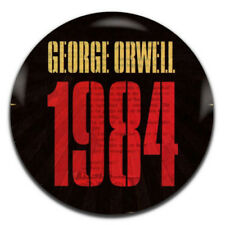 George Orwell 1984 Novel 25mm / 1 Inch D Pin Button Badge