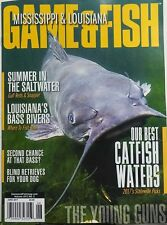 Mississippi Louisiana Game & Fish June 2017 Best Catfish Waters FREE SHIPPING sb