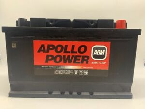 12V 80Ah 800A AGM VRLA Car Battery FITS  MERCEDES-BENZ A0009822108