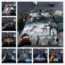 3D Star Wars Bettwäsche Set Bettwaren Bettbezug mit Kissenbezug Kinder Geschenk