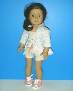 """American Girl: Freckled Face Brown Hair 18"""" Doll- Fully Clothed (Pre-O)"""