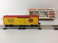 Lionel O Scale Napierville Junction Box Car 6-9413 (Box #2)