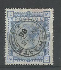 1883/91 Sg 183A, 10/- Pale Ultramarine (ME) very fine used.