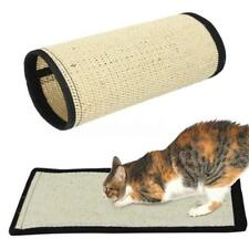 Pet Cat Kitten Scratcher Scratching Pad Corner Floor Wall Sisal Board Mat LC