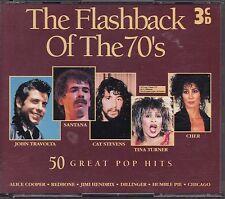 CD-Sampler: - The Flashback Of The 70's -, 3 CDs