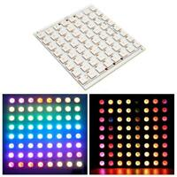 WS2812B 8x8 64-Bit Full Color 5050 RGB 64 LED Lamp Panel Light for OS857
