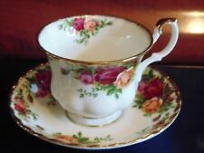 Unboxed Tea Cup & Saucer British Royal Albert Porcelain & China
