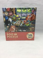Cobble Hill Cats Retreat  500 Piece Jigsaw Puzzle #57221