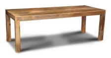 Dakota Light Solid Mango Furniture 220cm Dining Table (16l)