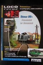 MODELISME FERROVIAIRE TRAIN MAGAZINE LOCO REVUE N° 745 de 2009