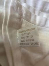 "Williams Sonoma 100% Cotton White Tablecloth 64"" x 64"""