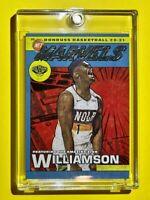 Zion Williamson NET MARVELS INSERT CARD DONRUSS 2020-21 HOT 2ND YEAR - Mint!