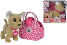 Simba Chi Chi Love Happy Chihuahua Plüschhund mit Tasche (Pink)