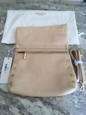 HAMMITT VIP Arches Studded Brushed Beiges .    Crossbody Clutch NWT MSRP $275.00