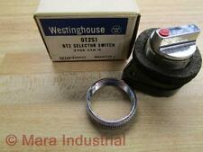 Westinghouse OT2S1 Selector Switch