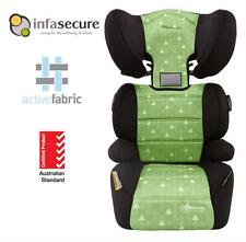 Br New Infa Secure Vario Treo Booster Car Seat 4-8 years Kid Child Toddler Green