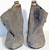 Nine West Grey Wedge Shoes Sz 5 M