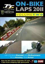 Isle of Man TT 2011 - On Bike Laps Volume 2 (New DVD) John McGuinness Keith Amor