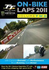Isle of Man TT 2011 - On Bike Laps Volume 2 (New DVD) John McGuinness Keith Amor