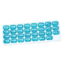 Medizinbox 31 Tage Pillendosen Pill Organizer Tabletten Ein Monat Dispenser L0Z1