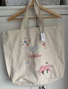 Cath Kidston X Fearne Tiger Canvas Tote Bag