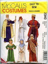 Nativity Costume Pattern - Mary, Joseph, Wise Men, Shepherd, Angel - Kids Medium