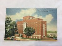 Vintage Postcard Linen East Tenn Baptist Hospital Knoxville Tennessee Posted1953