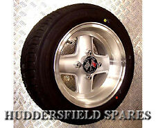 6x10 Silver (polished rim) genuine Revolution Alloy Wheel Only for classic Mini.