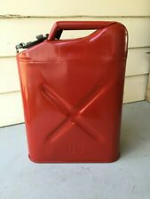 1973 Usmc U.S. Military Vietnam War Era 5 Gallon Jerry Fuel Gas Can
