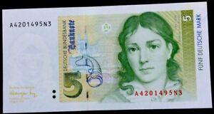 Germany 5 Deutsche Mark,1991,P-37,UNC