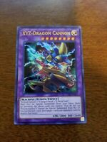 YuGioh XYZ-Dragon Cannon NM (Unlimited Ed.) LCKC-EN061 Ultra Rare Card