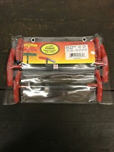 Bondhus 8 Pc Metric Ball End T Handle Hex / Allen Key Set 2mm To 10mm 13187 NOS