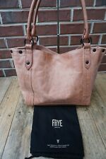 Authentic Frye Melissa Dusty Rose Vintage Leather Shoulder Bag ---NWT $358
