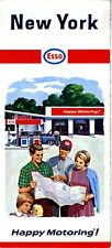 1966 Humble / Esso Road Map: New York NOS