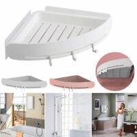 ABS Nahtlos Stativ Badezimmer Regal Ecke Badewanne Lagerung Inhaber Ohne Bohren