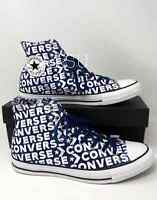 Sneakers Men's Converse Chuck Taylor All Star High Top Canvas Navy 163952C