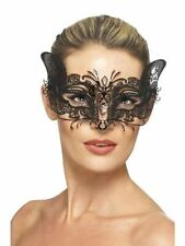 Women's Metal Venetian Costume Masks