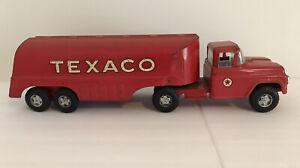 Vintage Buddy L Ford Texaco Tanker Truck Pressed Steel